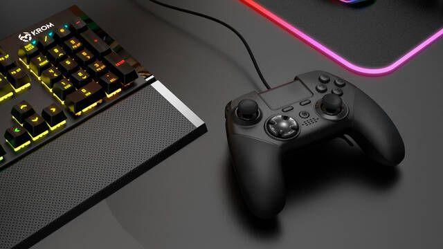 Krom presenta su mando Kaiser para PC, PS3 y PS4