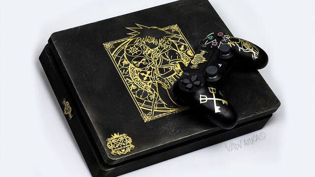 Vadu Amka crea una PS4 Slim de Kingdom Hearts 3