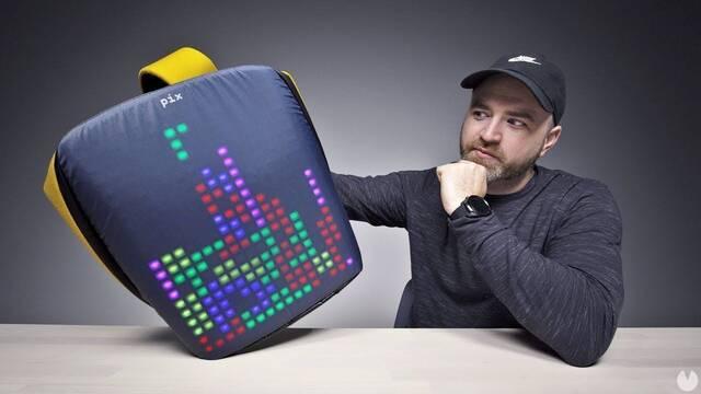 PIX, la mochila con 'pantalla' par jugar a Tetris