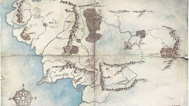 Amazon Studios presenta el mapa de la serie 'El Señor de los Anillos'