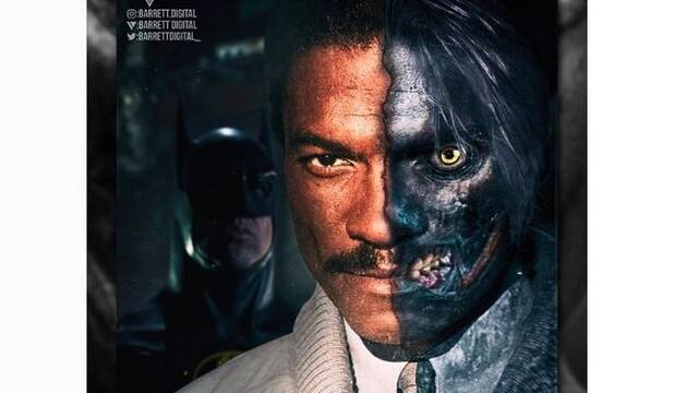 DC: Imaginan a Billy Dee Williams como Dos Caras en 'Batman Forever'