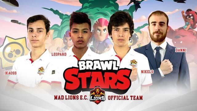 MAD Lions presenta su equipo de Brawl Stars