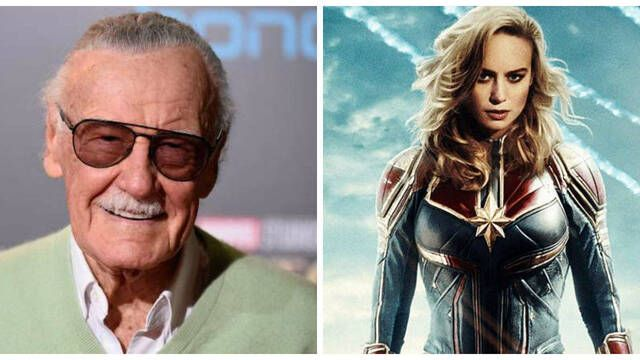 'Capitana Marvel' rinde un tributo a Stan Lee