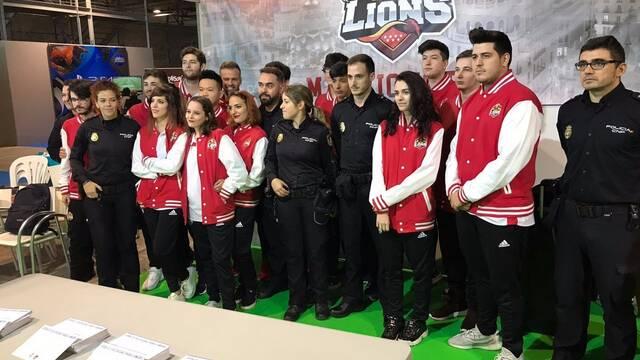 La Policía Nacional crea una guía de seguridad para gamers junto a MAD Lions E.C.