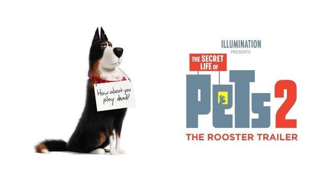 'La vida secreta de tus mascotas 2' presenta al personaje de Harrison Ford