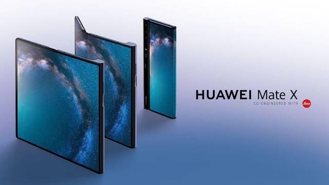 Mate X, el móvil plegable de Huawei por 2299 euros