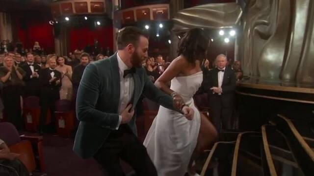 Oscar 2019: Chris Evans fue un verdadero Capitán América