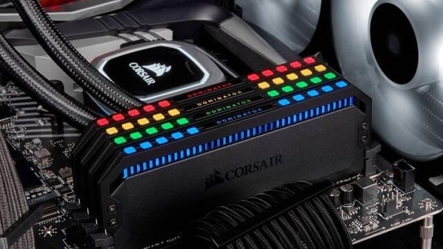 Corsair presenta su nueva memoria RAM DDR4 Dominator Platinum RGB