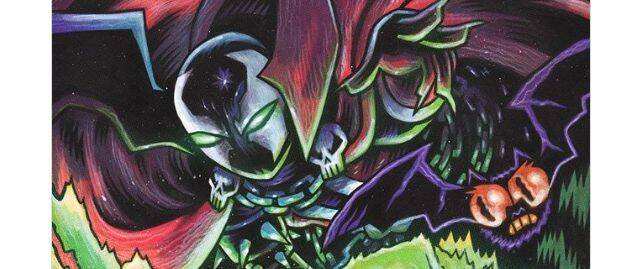 Dibujan a Spawn al estilo de 'Teen Titans GO!'