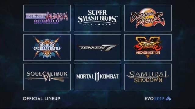 Estos son los juegos del EVO 2019