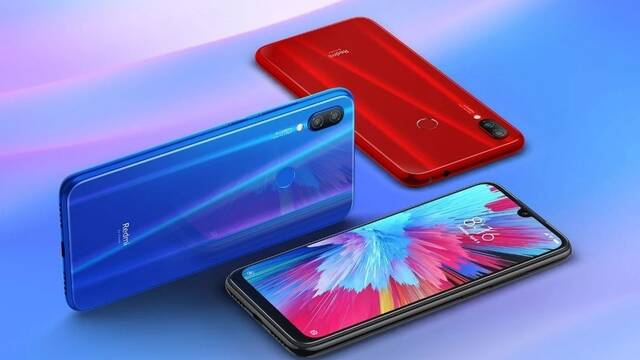 Xiaomi presenta su nuevo Redmi Note 7 Pro de 173 y 210 euros