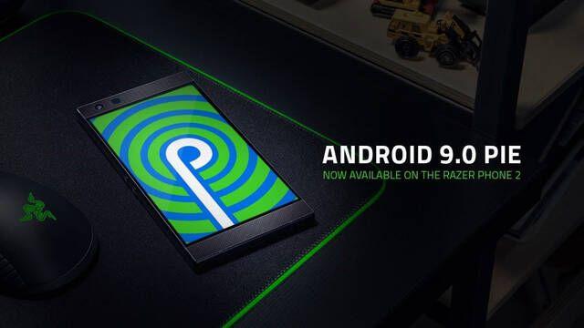 Razer Phone 2 se actualiza por fin con Android 9.0 Pie