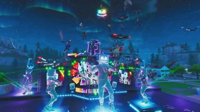 Así fue el concierto de Marshmello en Fortnite