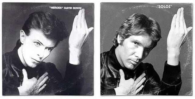 Los personajes de 'Star Wars' protagonizan portadas de disco famosos