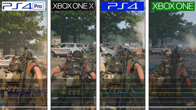 Así se ve la beta de The Division 2 en PS4 Pro y Xbox One X