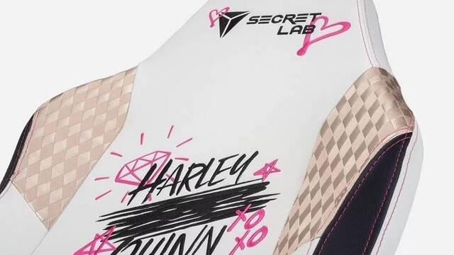 Secretlab lanza sillas gamer 'especiales' de Harley Quinn y 'sus Aves de presa'