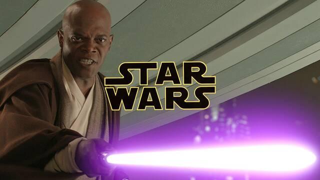 Star Wars: El momento en el que Samuel L. Jackson consiguió el sable púrpura