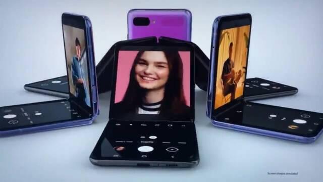 Samsung presenta en los Oscar el primer vídeo del Galaxy Z Flip, su nuevo móvil plegable