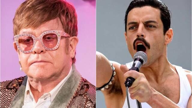 Elton John contra Bohemian Rhapsody: 'Nosotros decimos la verdad'