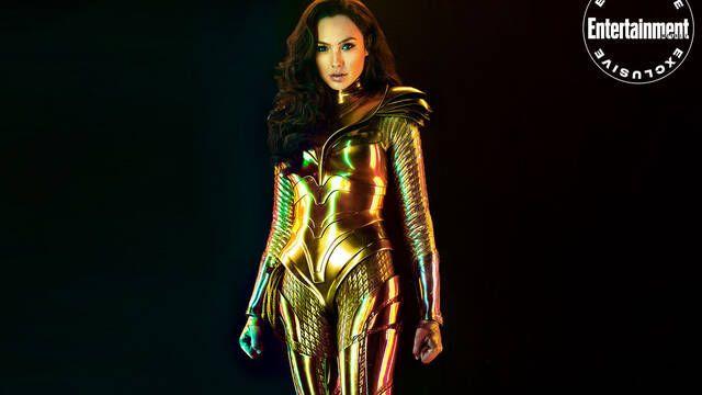 Wonder Woman 1984 muestra la armadura dorada en nuevas imágenes