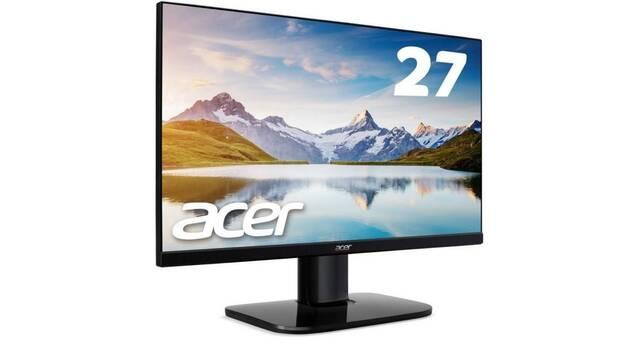 Acer presenta nuevos monitores económicos para jugar a 1080p y 60Hz