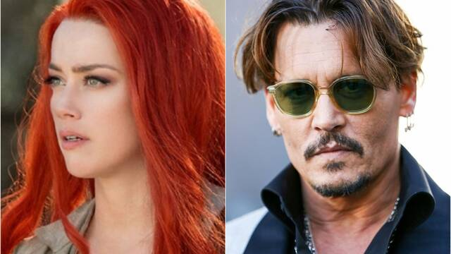 Quieren a Amber Heard fuera de Aquaman 2 después del audio filtrado