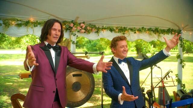 Bill & Ted 3: Nueva imagen con Keanu Reeves y Alex Winter