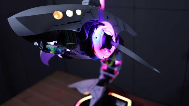 El PC Modding de los viernes: Leviathan, un PC inspirado en Horizon Zero Dawn