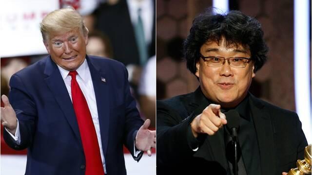 Parásitos: Donald Trump carga contra la película por 'ser coreana'