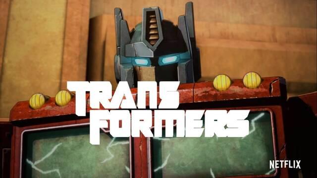 Netflix presenta el tráiler de la nueva serie de animación de Transformers