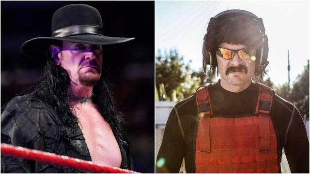 Undertaker, estrella de la WWE, interrumpe a Dr. Disrespect en un directo de Overwatch