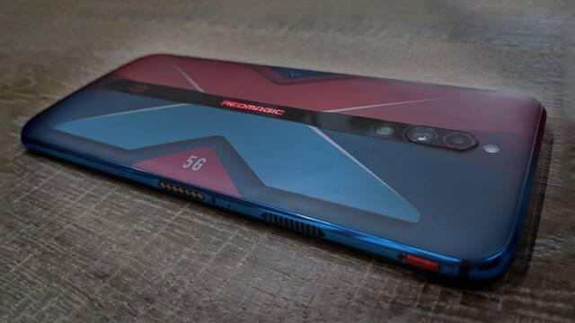 El Red Magic 5G podrá mover juegos a 144 fps con caídas máximas hasta 122 fps