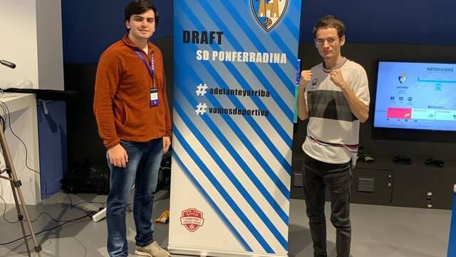Javier Pérez será jugador de FIFA 20 en la aventura de la Ponferradina en los esports