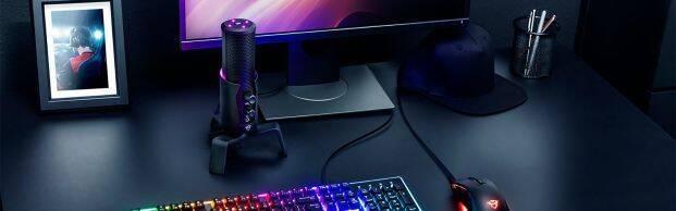 Trust Gaming lanza su nuevo micrófono para streamers: GXT 258 Fyru 4-in-1