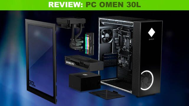 Análisis OMEN 30L, el mejor ordenador prefabricado para jugar