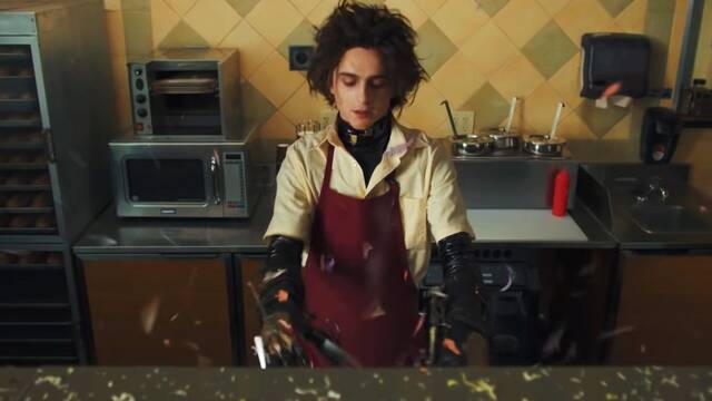 Tim Burton aplaude el anuncio de Timothée Chalamet como Eduardo Manostijeras