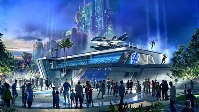 Avenger's Campus: El parque de atracciones de Marvel en Disneyland