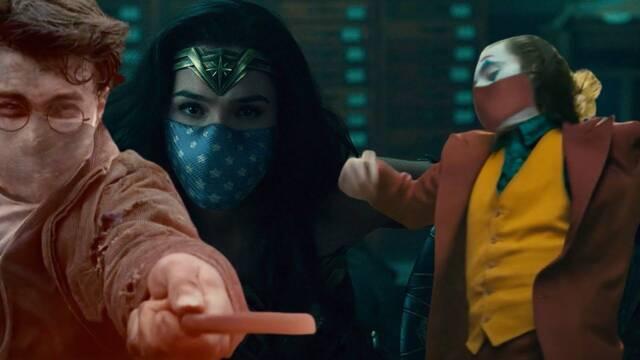 El Joker, Harry Potter o Wonder Woman llevan mascarillas en un spot contra la COVID-19