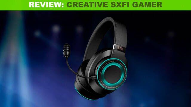 Análisis Creative SXFI Gamer: Unos auriculares de armas tomar