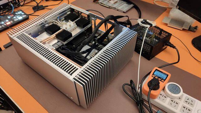 Turemetal crea un PC con una NVIDIA RTX 3080 sin ventilador para ser totalmente silenciosa