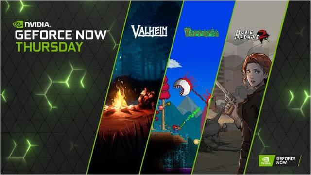 NVIDIA GeForce Now acoge Valheim, Terraria y otros 9 juegos en su plataforma