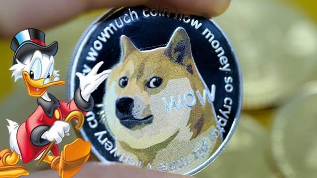 Dogecoin: Un inversor acapara una 1/4 del mercado con más de 2100 millones de dólares