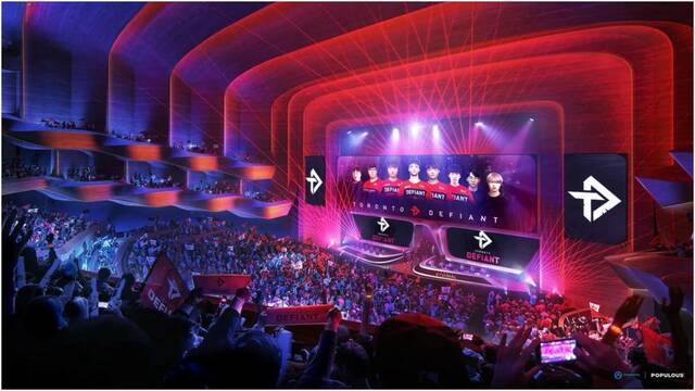 Overactive Media construirá un estadio de esports valorado en 500 millones de dólares