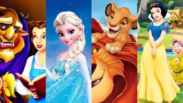 Las 15 MEJORES películas de dibujos animados de Disney de todos los tiempos (2021)