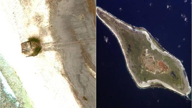 Una 'misteriosa' construcción aparece en la isla de Starbuck