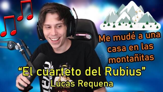 El youtuber Lucas Requena dedica una divertida canción al Rubius