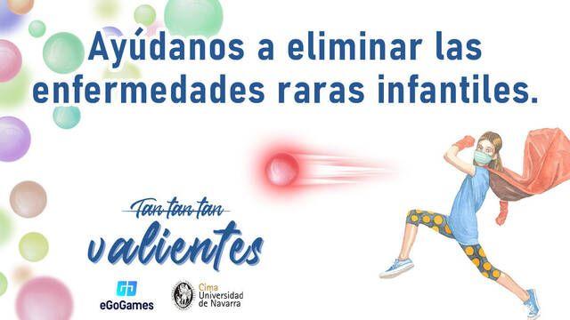 eGoGames y UNAV presentan su torneo solidario de esports por las enfermedades raras infantiles