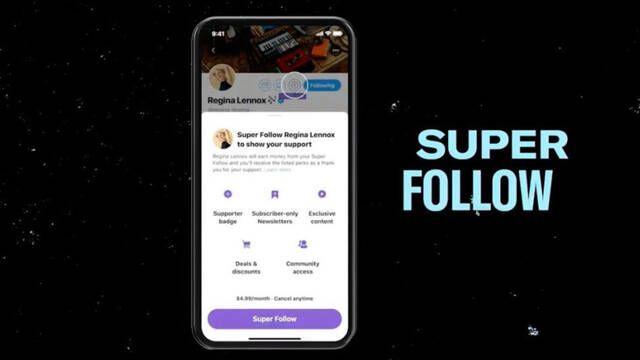 """Twitter presenta """"Super Follow"""", su servicio de suscripción con contenido exclusivo"""