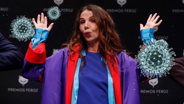 Victoria Abril la lía y se destapa como negacionista del coronavirus