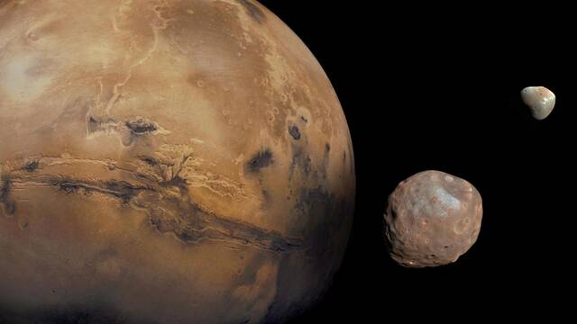 Las lunas de Marte: Los restos de una luna mucho mayor ya desaparecida